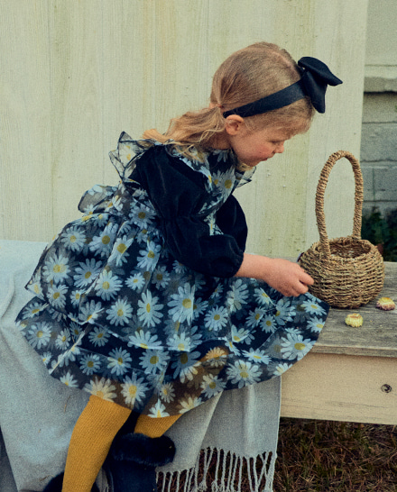 Corduroy Apron Dress